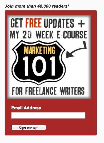 Получите бесплатные обновления + 20-недельный электронный курс Marketing 101 для авторов-фрилансеров