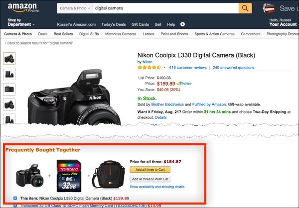 Как Amazon максимизирует прибыль