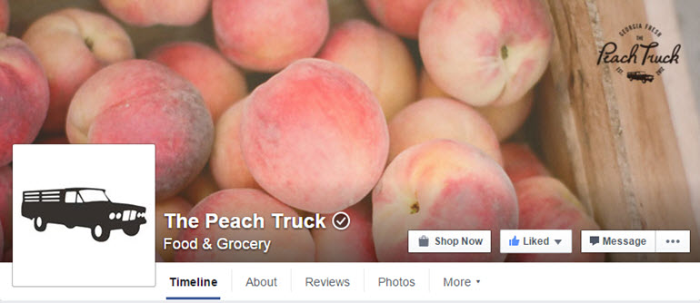 The Peach Truck Facebook Page
