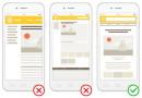Яндекс проследит за удобством страниц для мобильных устройств
