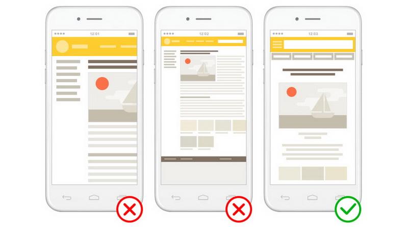 Яндекс ввёл удобство для мобильных как критерий ранжирования